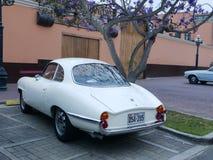 阿尔法・罗密欧Giulietta Sprint Speciale贝尔托内在利马 免版税库存照片