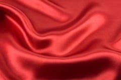 阿尔法红色缎 免版税库存图片