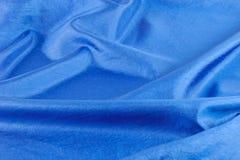 阿尔法蓝色布料降伞 库存照片
