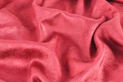 阿尔法被仿造的红色缎 库存图片