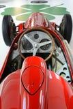 阿尔法・罗密欧赛跑车的内部的159 M monoposto 免版税库存图片