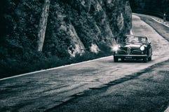 阿尔法・罗密欧1900 C游览1955年的超级Sprint 免版税库存照片