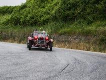 阿尔法・罗密欧6C 1750 GS蜘蛛Zagato 1930年 免版税库存照片