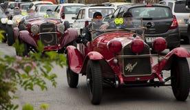 阿尔法・罗密欧6C 1750 GS Zagato 1930年 免版税库存照片