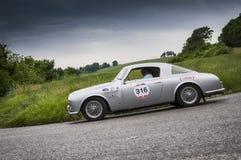 阿尔法・罗密欧1900 C Sprint Pininfarina 1954年 库存图片