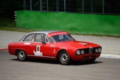 1964年阿尔法・罗密欧2600 Sprint在蒙扎 图库摄影