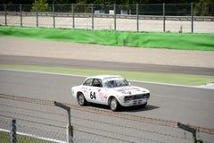 1971年阿尔法・罗密欧GTV 2000年 免版税库存图片