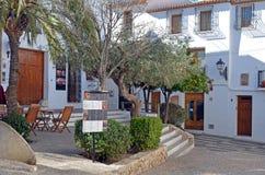 阿尔特阿的老中心在西班牙 免版税图库摄影