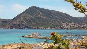 阿尔特阿,西班牙的美丽的景色 股票视频