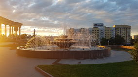 阿尔玛蒂喷泉 免版税库存图片