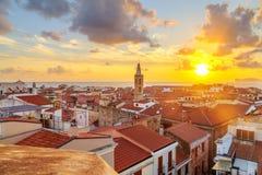 阿尔盖罗市,撒丁岛 免版税库存图片
