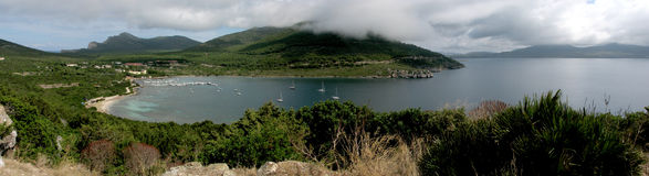 阿尔盖罗& x28; Italy& x29;- Cala Tramariglio -撒丁岛 免版税图库摄影