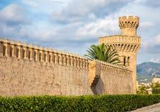 阿尔穆代纳宫殿 免版税图库摄影