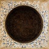 阿尔罕布拉宫天花板 库存照片