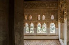 阿尔罕布拉宫室 免版税图库摄影