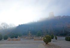 阿尔罕布拉宫宫殿城堡 免版税图库摄影