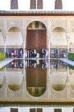 阿尔罕布拉宫宫殿建筑学 库存图片
