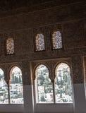 阿尔罕布拉宫宫殿 库存图片