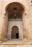 阿尔罕布拉宫正义门 库存照片