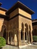 阿尔罕布拉宫殿,格拉纳达,西班牙 免版税库存图片