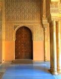 阿尔罕布拉宫殿,格拉纳达,西班牙 免版税库存照片