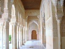 阿尔罕布拉宫的看法在格拉纳达 免版税图库摄影