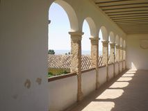 阿尔罕布拉宫的老部分在西班牙 免版税库存图片