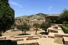 阿尔罕布拉宫,安大路西亚,格拉纳达,西班牙 库存图片