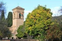 阿尔罕布拉宫,格拉纳达西班牙 库存图片