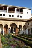 阿尔罕布拉宫,西班牙 图库摄影