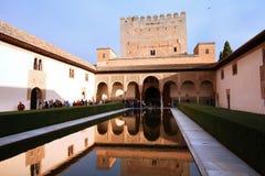 阿尔罕布拉宫,西班牙 库存照片