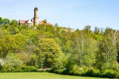 阿尔腾堡城堡在琥珀 免版税库存照片