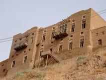阿尔贝拉,伊拉克城堡  免版税图库摄影
