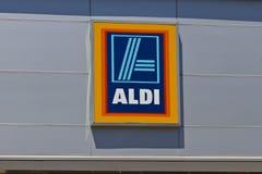 阿尔迪折扣超级市场VI 免版税图库摄影