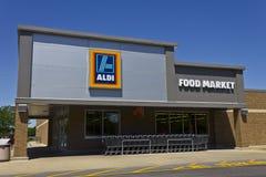 阿尔迪折扣超级市场VII 免版税图库摄影