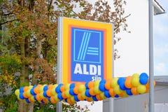 阿尔迪SÃ ¼ d baloons 库存图片