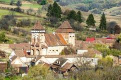 阿尔马vii,福音派加强了教会 免版税库存照片
