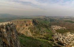 阿尔贝尔峭壁视图 图库摄影