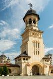 阿尔巴尤利亚加冕大教堂  库存图片