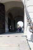 阿尔巴尤利亚堡垒,罗马尼亚第三个门  免版税图库摄影