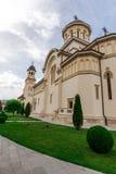 阿尔巴尤利亚教会 免版税库存图片