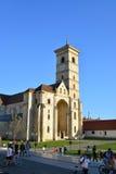 阿尔巴尤利亚教会 库存图片
