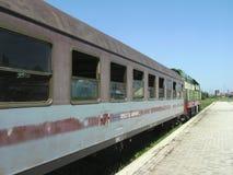 阿尔巴尼亚状态铁路 免版税库存照片