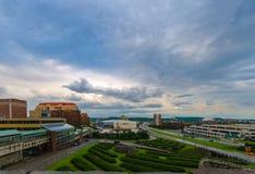阿尔巴尼, NY都市风景 免版税图库摄影
