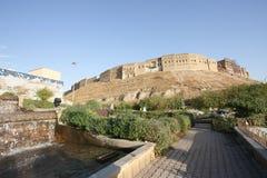阿尔贝拉城堡,阿尔贝拉市,伊拉克 免版税库存图片