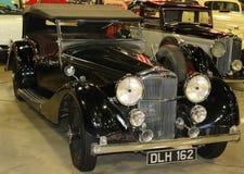 1937年阿尔维斯速度25古色古香的汽车 库存照片