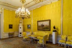 阿尔贝蒂娜博物馆博物馆在维也纳 免版税库存图片