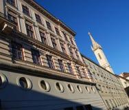 阿尔贝蒂娜博物馆博物馆,维也纳 图库摄影