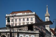 阿尔贝蒂娜博物馆,维也纳 免版税图库摄影