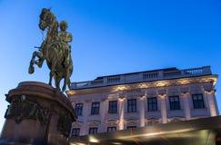 阿尔贝蒂娜博物馆,维也纳 库存照片